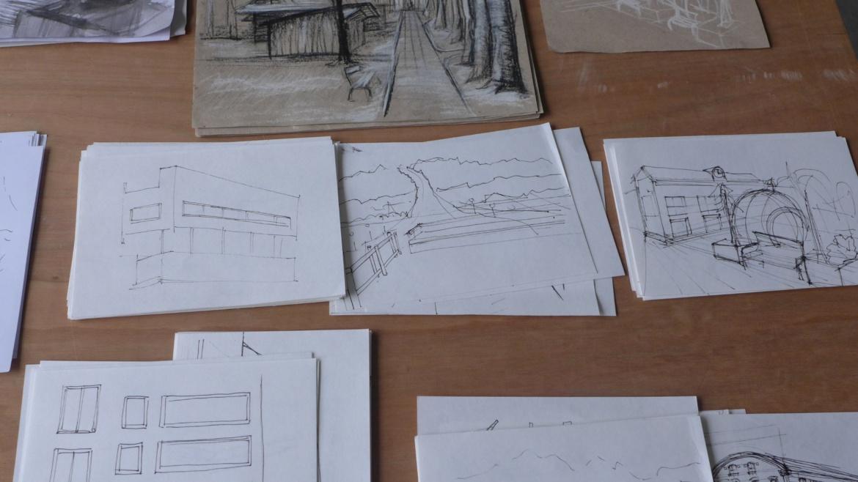 Seminar: Immer zeichnen. Wintersemester 2015/16.